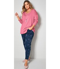 jeans janet & joyce marine::pink::lichtblauw