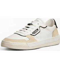 skórzane sneakersy model strave