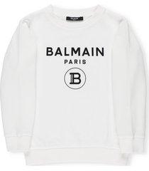 balmain logo sweatshirt