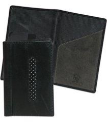 men's dopp black ops alpha collection rfid passport case