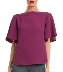 symone boatneck top