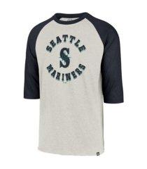 '47 brand seattle mariners men's retrospect raglan t-shirt