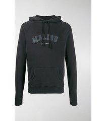 saint laurent malibu logo hoodie