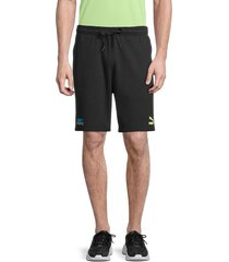 puma men's cotton tfs shorts - black - size xl