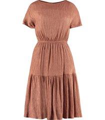 lautre chose embossed dress