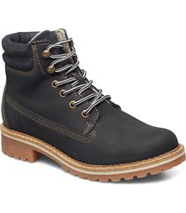 boots shoes boots ankle boots ankle boot - flat blå tamaris