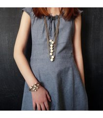 biżuteria safari z bransoletką