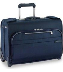 "briggs & riley baseline 14"" 2-wheel carry-on garment bag"