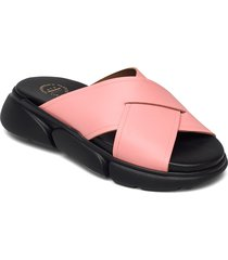 sovereto candy pink vacchetta shoes summer shoes flat sandals rosa atp atelier