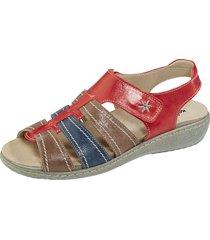 sandaletter naturläufer röd