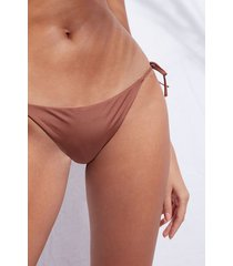 calzedonia string swimsuit bottom indonesia eco woman brown size 4