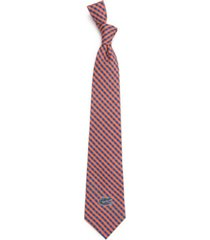 eagles wings florida gators poly gingham tie