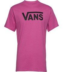 mn vans classic t-shirts short-sleeved rosa vans