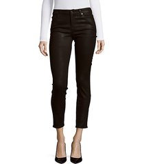 ankle skinny coated jeans