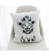 poszewka - roześmiane lwiątko