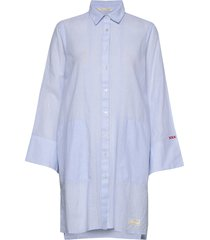 electrifying long shirt tuniek blauw odd molly
