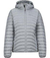 chaqueta aruna hoody gris marmot.