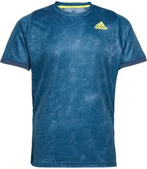 freelift t-shirt p.blue h.rdy t-shirts short-sleeved blauw adidas performance