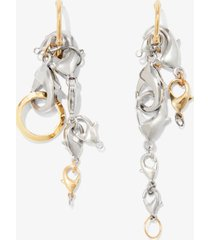 proenza schouler chain earrings multi/silver one size