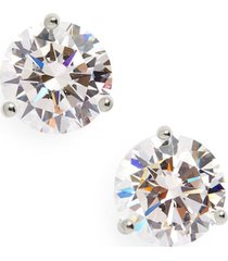 women's nordstrom 3ct tw cubic zirconia earrings
