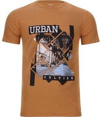 camiseta urban culture color café, talla s