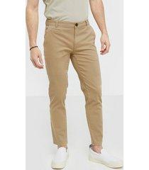 les deux pascal chino pants byxor ljus brun