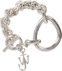j.w. anderson oversized link chain bracelet