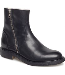 boots 913102 shoes boots ankle boots ankle boot - flat svart billi bi