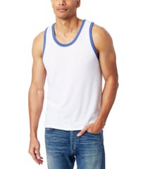 alternative apparel men's keeper vintage-like jersey ringer tank top