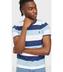 polo ralph lauren polo short sleeve t-shirt t-shirts & linnen blue
