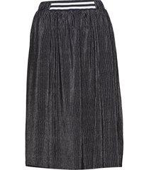 kaisa skirt knälång kjol blå kaffe