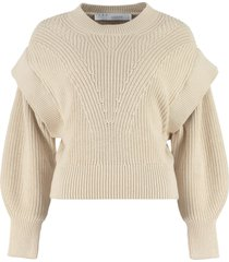 iro kharla ribbed crew-neck sweater