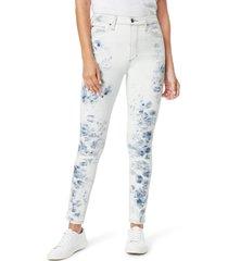 women's joe's the bella high waist ankle skinny jeans, size 26 - blue