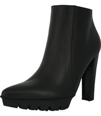 botín stivali lyon cuero negro