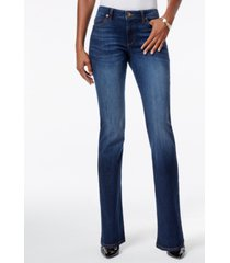 kut from the kloth natalie curvy-fit admiration wash bootcut jeans, created for macy's