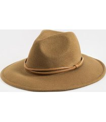 katy twist band wool panama hat - olive