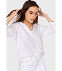 blusa blanca newliza