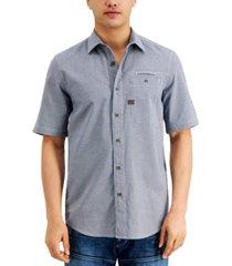 g-star raw men's regular-fit houndstooth shirt