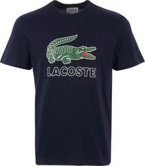 lacoste large logo t-shirt - navy th6386-166