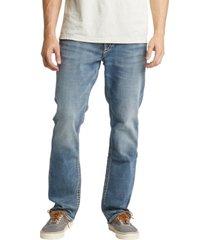 silver jeans co. men's grayson easy fit straight leg jean