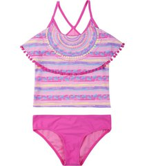 tankini sublimado fucsia h2o wear