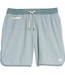 men's vuori banks hybrid shorts, size small - green