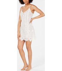 inc ivory lace chemise nightgown, created for macy's