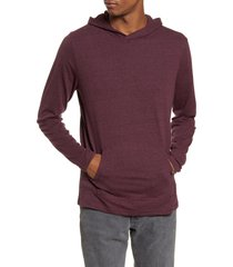 men's threads 4 thought pullover hoodie, size small - red