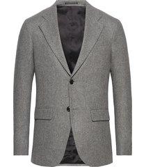 m. sean herringb jacket blazer kavaj grå filippa k