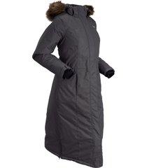 cappotto termico con ecopelliccia (grigio) - bpc bonprix collection