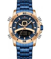 reloj militar azul naviforce
