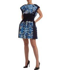 alberta ferretti janelle mini dress