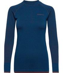 adv warm fuseknit intensity ls w t-shirts & tops long-sleeved blauw craft