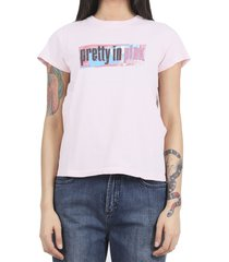 marc jacobs x pretty in pink pink t-shirt